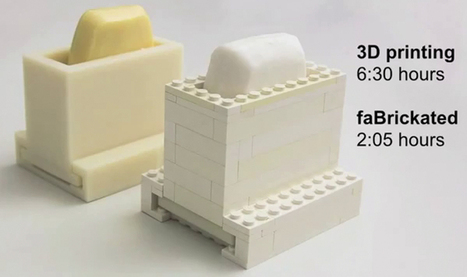 "faBrickation, se la stampa 3D incontra i LEGO - Wired | L'impresa ""mobile"" 
