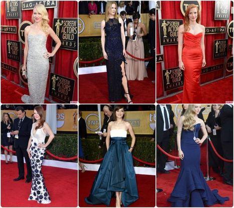 10 Best Dressed Celebrities at SAG Awards 2013 | Fashion Faz | Celebrity Style Trends | Scoop.it