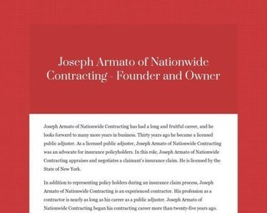 Joseph Armato's Profile | Joseph Armato | Scoop.it