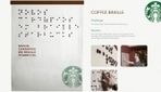 Starbucks Spells Out Its New Braille Menu With Coffee Beans - DesignTAXI.com | Out of the box experiences | Scoop.it