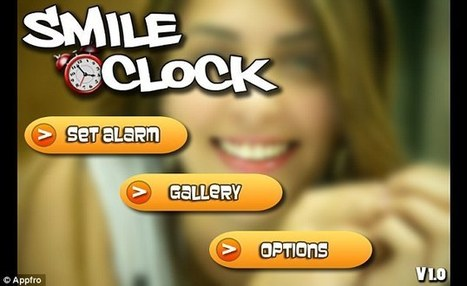 Start the day with a smile: App lets you switch off alarm by grinning  | Morning Radio Show Prep | Scoop.it