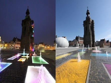 Krijn de Koning: fountain pools and multiple color | Art Installations, Sculpture, Contemporary Art | Scoop.it