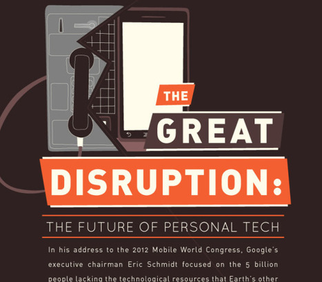 The Great Disruption: The Future of Personal Tech [INFOGRAPHIC] | Startup Revolution | Scoop.it
