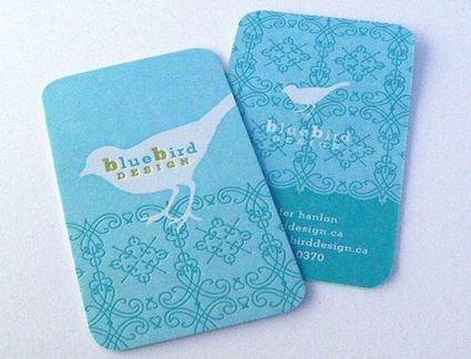 50 Inspiring Blue Business Cards | Smashmagz | Smashmagz | Scoop.it
