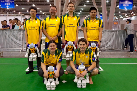 How an Australian team won robot soccer world championships | Tudo o resto | Scoop.it