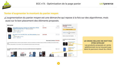 Sites Ecommerce : Comment optimiser la page panier ? | e-commerce  - vers le shopping web 3.0 | Scoop.it