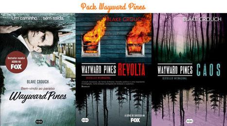 """Passatempo de Aniversário #6 - Pack """"Wayward Pines"""", de Black Crouch - Estante de Livros   Ficção científica literária   Scoop.it"""