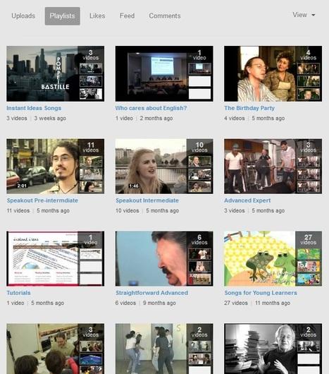 YouTube Videos for Merit School Teachers | English Teacher's Digest | Scoop.it