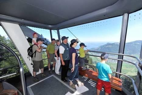 CabriO Stanserhorn :Un nouveau système de téléphérique disposant d'un pont supérieur permet aux visiteurs d'apprécier l'air frais et une vue exceptionnelle autour du Stanserhorn | transports par cable - tram aérien | Scoop.it
