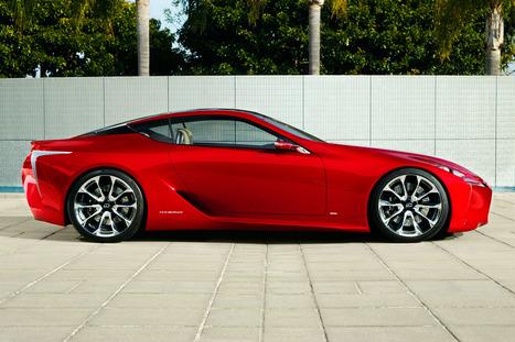 Gorgeous Lexus Hybrid Makes Us Say, 'Damn!' | Electric Car Pictures | Scoop.it
