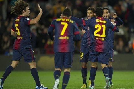 El partido del Barça en imágenes | Deporte | Scoop.it