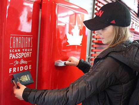Beer Fridge in Olympic Village Opens Only With CanadianPassport | Testing | Scoop.it