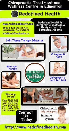 Chiropractic | Massage | Soft Tissue Therapy Clinic Edmonton | Edmonton Chiropractors - Redefined Health | Scoop.it