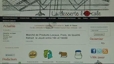 Le journal de 13h - Poitiers : des produits fermiers vendus en drive | Circuits court et e-commerce | Scoop.it