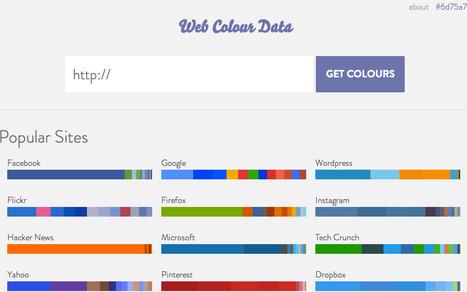 Colours - Web colour data   Farbstaben   Scoop.it