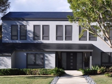 Les technologies solaires se fondent dans la toiture (1/2) | Green Imagineering | Scoop.it