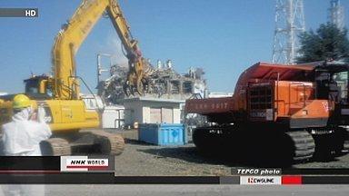 [eng] TEPCO utilise du matériel sans pilote pour enlever les décombres | NHK WORLD English (+vidéo) | Japon : séisme, tsunami & conséquences | Scoop.it