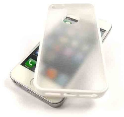 (White) Border Gel Case for iPhone 5S/5 | IPhone Cases | Scoop.it
