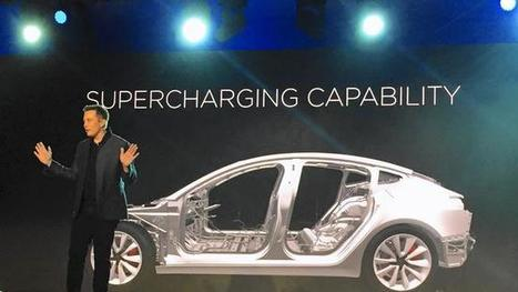 Tesla reveals some details about the Model 3 — and keeps others under wraps | Sustainability Science | Scoop.it