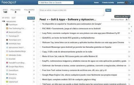 Feedspot, otra alternativa más para sustituir a Google Reader | Online Learning: More Than Just a MOOC #SPANISH | Scoop.it