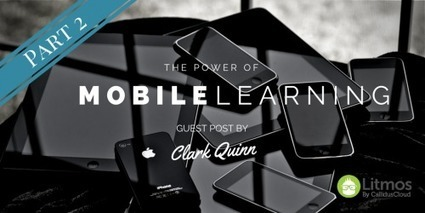 The Power of Mobile Learning | Mobile Learning | Scoop.it