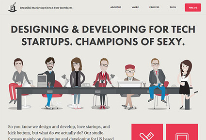 55 Fresh Examples Of Creative Single Page Website Designs   Web Design   Scoop.it