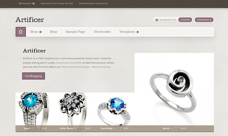 30 Elegant Wordpress eCommerce Themes   Web Design and Wordpress   Scoop.it