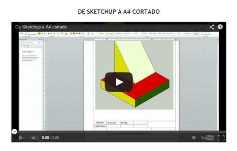 Cómo pasar nuestros dibujos a un A4 cortado | tecnología industrial | Scoop.it