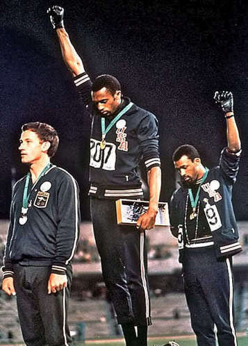 Fists of Freedom: An Olympic Story Not Taught in Schools | Athletes on GOOD | Ethics in Sport | Scoop.it