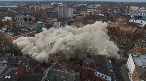 Drones Are Getting in on the Building-Demolition Game | INTRODUCTION TO THE SOCIAL SCIENCES DIGITAL TEXTBOOK(PSYCHOLOGY-ECONOMICS-SOCIOLOGY):MIKE BUSARELLO | Scoop.it