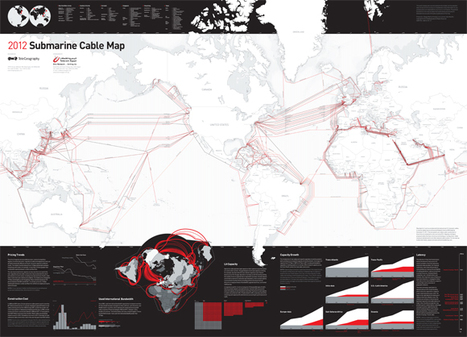 Submarine Cable Map | In Deep Water | Scoop.it