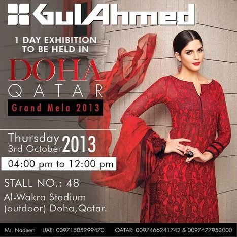 Gul Ahmed Midsummer & Winter Dresses Collection   fashion   Scoop.it