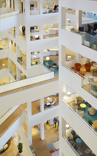 Le bureau le plus écoénergétique de Suède | Office et culture | Bureaux inspirants | Scoop.it