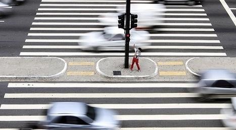 Sécurité routière : une application pour les piétons | L'actualité du transport de mars 2014 | Scoop.it