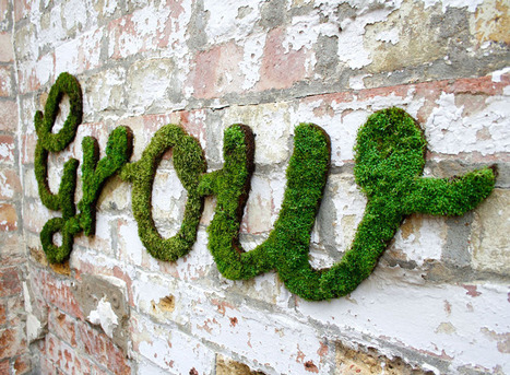 Moss graffiti, greening the streets one wall at a time ... - Lost At E Minor | Street art news | Scoop.it