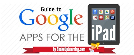 23 iPad Google Apps Every Teacher Should Know about ~ Educational Technology and Mobile Learning | Chisholm iPads | Scoop.it