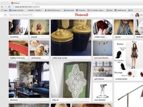 Pinterest teste une page d'accueil personnalisée | Animation Numérique de Territoire | Scoop.it