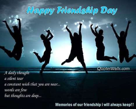 Happy Friendship Day Quotes | Quotes Wallpapers | Scoop.it