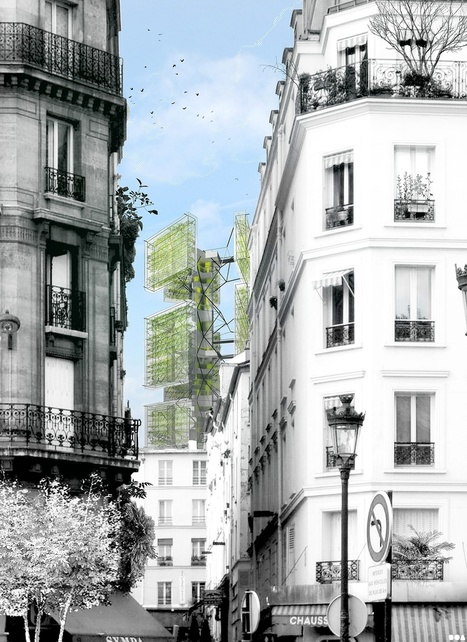 More Vertical Garden Concepts Designed by SOA | Arrival Cities | Scoop.it