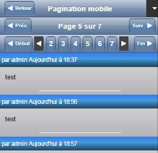 Astuce Forumactif: Ajouter une pagination à la version mobile | Forumactif | Scoop.it