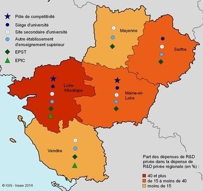 Insee > Les PME, un levier pour la recherche et le développement dans les Pays de la Loire | Observer les Pays de la Loire | Scoop.it