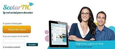 ScolarTIC, nueva plataforma social para docentes | Las TIC y la Educación | Scoop.it
