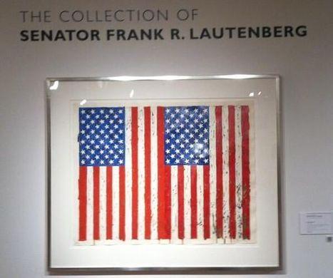 Jasper Johns Flags I Screenprint From Estate Senator Lautenberg Fetches $989K Auction Record   Jasper Johns   Scoop.it