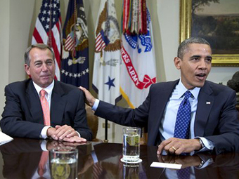 The Disparity Between Obama And Boehner's Approval Ratings On The Fiscal Cliff Is Staggering | World Politics | Scoop.it