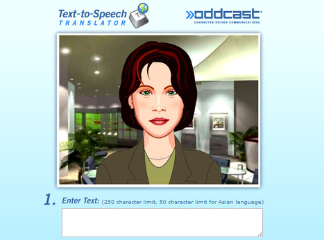 Best Text-to-Speech Demo: Create Talking Avatars and Online Characters | SitePal TTS Demo | Merveilles - Marvels | Scoop.it