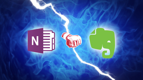 Lifehacker Faceoff: OneNote vs. Evernote | Technology Enhanced Laboratory Education | Scoop.it