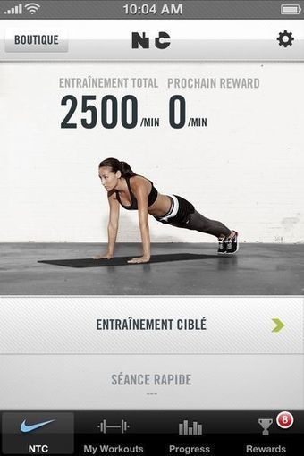 Cinq applis pour rester en forme - LEntreprise.com | faire du sport autrement | Scoop.it