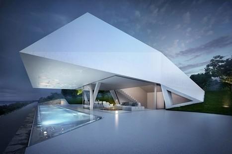 Fantastic Villa F in Greece Inspired By Geometry | creativity & technology | Scoop.it