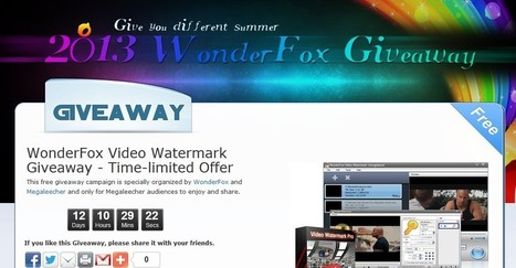 Exclusive Unlimited License Key Giveaway for WonderFox Video Watermark – All-in-one with Video Converter, Video Editor and Video Watermarking for Windows | Free Sharing! | Scoop.it