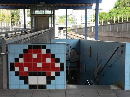La station de métro la plus Geek du Monde ? | Street Art, échappatoire de l'oeil | Scoop.it